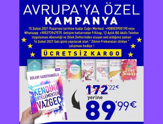 Avrupa'ya Özel Kampanya!