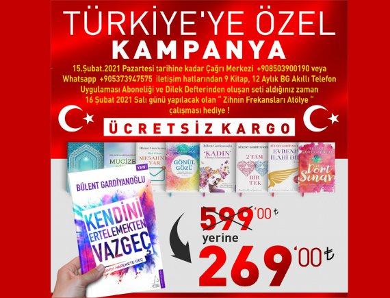 Türkiye'ye Özel Kampanya!